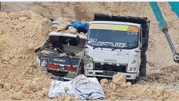 Begini Kronologinya Sopir Dump Truk Tewas Tertimbun Batu Padas di Pati