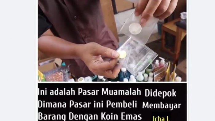 Ini Kata Lurah Heboh Pasar Muamalah di Depok Transaksi Tak Pakai Rupiah Tapi Dirham & Dinar