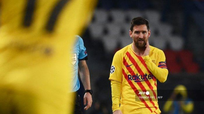 Lionel Messi Susul Ronaldo HASIL PSG vs Barcelona – Mbappe Dkk menuju Perempat Final Liga Champions